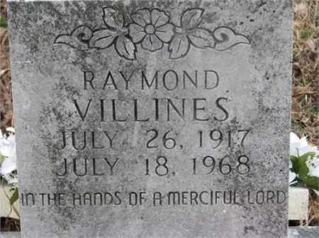 VILLINES, RAYMOND - Newton County, Arkansas | RAYMOND VILLINES - Arkansas Gravestone Photos