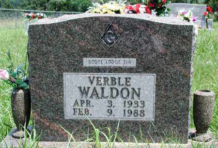 WALDON, VERBLE - Newton County, Arkansas | VERBLE WALDON - Arkansas Gravestone Photos