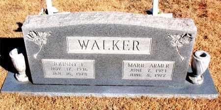 ARMER WALKER, MARIE - Newton County, Arkansas | MARIE ARMER WALKER - Arkansas Gravestone Photos
