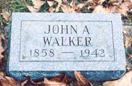 WALKER, JOHN A. - Newton County, Arkansas   JOHN A. WALKER - Arkansas Gravestone Photos