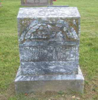 WALKER, MALINDA E. - Newton County, Arkansas | MALINDA E. WALKER - Arkansas Gravestone Photos
