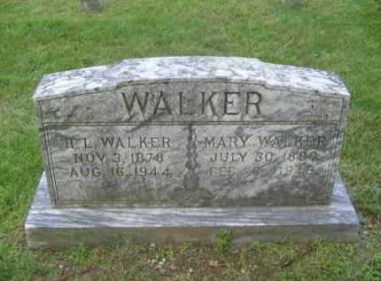 WALKER, R.L. - Newton County, Arkansas | R.L. WALKER - Arkansas Gravestone Photos