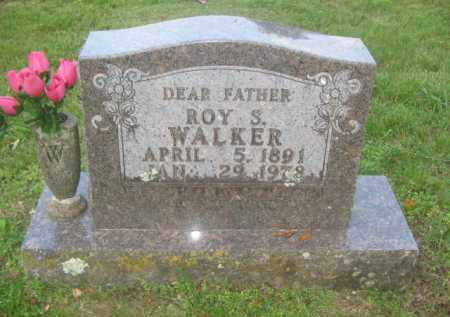 WALKER, ROY S. - Newton County, Arkansas   ROY S. WALKER - Arkansas Gravestone Photos