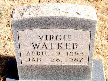 WALKER, VIRGIE - Newton County, Arkansas | VIRGIE WALKER - Arkansas Gravestone Photos