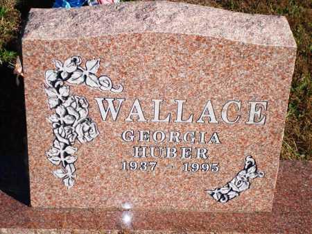 WALLACE, GEORGIA - Newton County, Arkansas | GEORGIA WALLACE - Arkansas Gravestone Photos