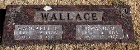 WALLACE, EDWARD M. - Newton County, Arkansas | EDWARD M. WALLACE - Arkansas Gravestone Photos