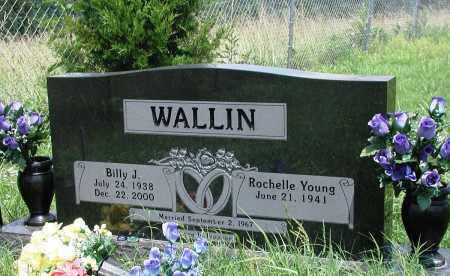 WALLIN, BILLY J - Newton County, Arkansas | BILLY J WALLIN - Arkansas Gravestone Photos