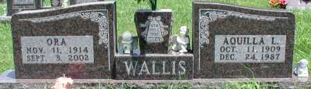 WALLIS, AQUILLA L - Newton County, Arkansas | AQUILLA L WALLIS - Arkansas Gravestone Photos