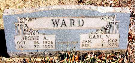 WARD, JESSIE A. - Newton County, Arkansas | JESSIE A. WARD - Arkansas Gravestone Photos
