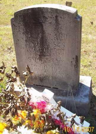 WARD, WELLS - Newton County, Arkansas   WELLS WARD - Arkansas Gravestone Photos