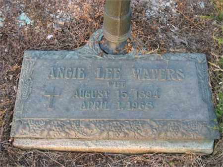 WATERS, ANGIE LEE - Newton County, Arkansas   ANGIE LEE WATERS - Arkansas Gravestone Photos