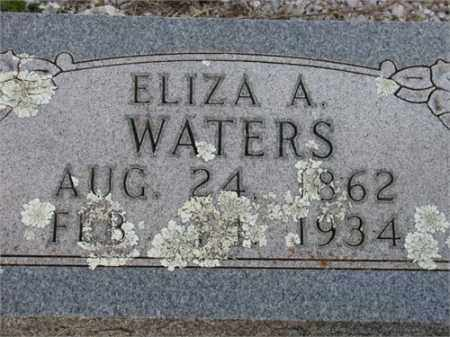 REEVES WATERS, ELIZA A. - Newton County, Arkansas | ELIZA A. REEVES WATERS - Arkansas Gravestone Photos