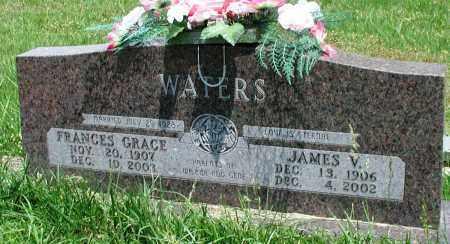 WATERS, JAMES V - Newton County, Arkansas   JAMES V WATERS - Arkansas Gravestone Photos