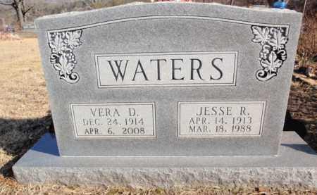 WATERS, JESSE R. - Newton County, Arkansas   JESSE R. WATERS - Arkansas Gravestone Photos