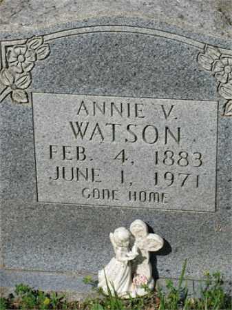 WATSON, ANNIE V. - Newton County, Arkansas | ANNIE V. WATSON - Arkansas Gravestone Photos