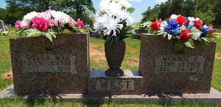 WEST, MONROE H. - Newton County, Arkansas | MONROE H. WEST - Arkansas Gravestone Photos