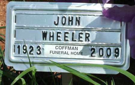 WHEELER, JOHN - Newton County, Arkansas   JOHN WHEELER - Arkansas Gravestone Photos