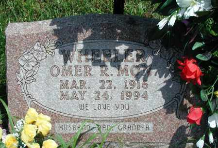 "WHEELER, OMER R ""MON"" - Newton County, Arkansas | OMER R ""MON"" WHEELER - Arkansas Gravestone Photos"