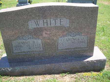 WHITE, MAYME B - Newton County, Arkansas | MAYME B WHITE - Arkansas Gravestone Photos
