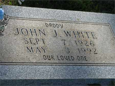 WHITE, JOHN J. - Newton County, Arkansas | JOHN J. WHITE - Arkansas Gravestone Photos