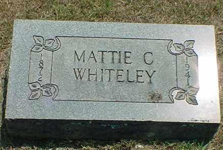 WHITELEY, MATTIE C. - Newton County, Arkansas | MATTIE C. WHITELEY - Arkansas Gravestone Photos