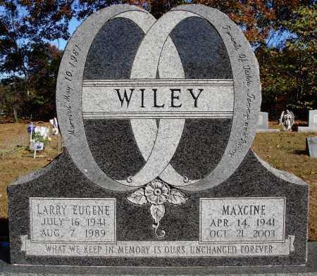 WILEY, LARRY EUGENE - Newton County, Arkansas   LARRY EUGENE WILEY - Arkansas Gravestone Photos