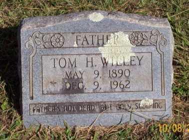 WILLEY, TOM H. - Newton County, Arkansas | TOM H. WILLEY - Arkansas Gravestone Photos