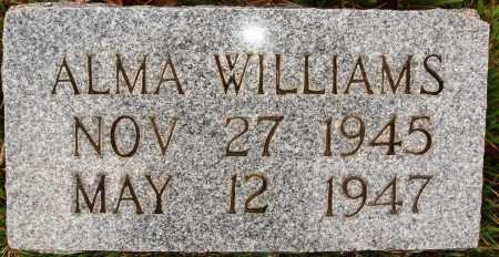 WILLIAMS, ALMA - Newton County, Arkansas | ALMA WILLIAMS - Arkansas Gravestone Photos