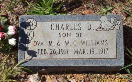 WILLIAMS, CHARLES D. - Newton County, Arkansas   CHARLES D. WILLIAMS - Arkansas Gravestone Photos