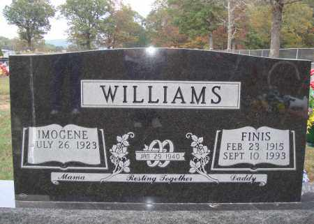 WILLIAMS, FINIS - Newton County, Arkansas | FINIS WILLIAMS - Arkansas Gravestone Photos