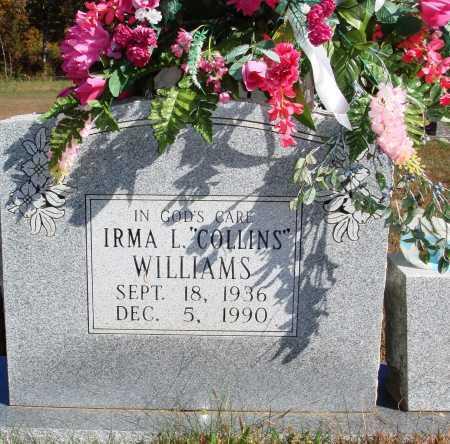 WILLIAMS, IRMA L. - Newton County, Arkansas | IRMA L. WILLIAMS - Arkansas Gravestone Photos