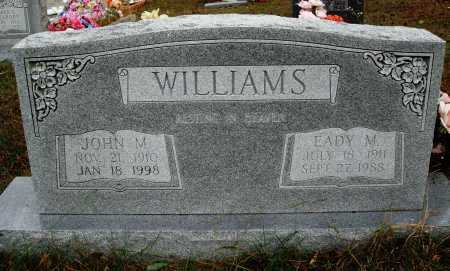 WILLIAMS, JOHN M. - Newton County, Arkansas | JOHN M. WILLIAMS - Arkansas Gravestone Photos