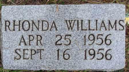 WILLIAMS, RHONDA - Newton County, Arkansas | RHONDA WILLIAMS - Arkansas Gravestone Photos