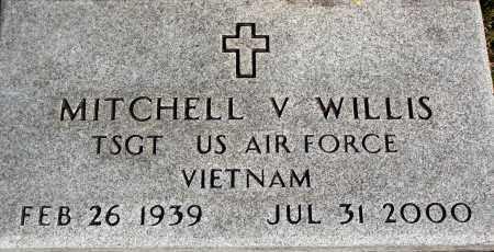 WILLIS  (VETERAN VIET), MITCHELL V - Newton County, Arkansas   MITCHELL V WILLIS  (VETERAN VIET) - Arkansas Gravestone Photos