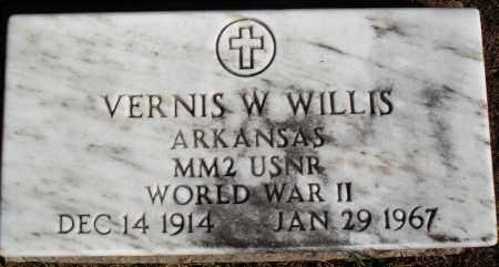 WILLIS  (VETERAN WWII), VERNIS W - Newton County, Arkansas | VERNIS W WILLIS  (VETERAN WWII) - Arkansas Gravestone Photos