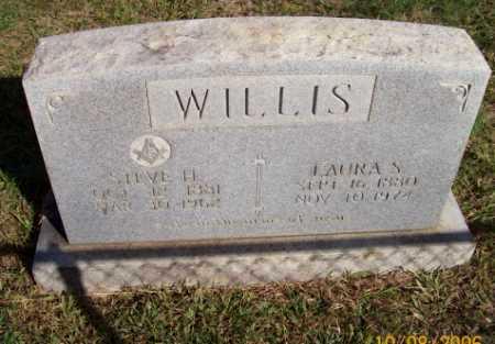 WILLIS, LAURA S. - Newton County, Arkansas | LAURA S. WILLIS - Arkansas Gravestone Photos