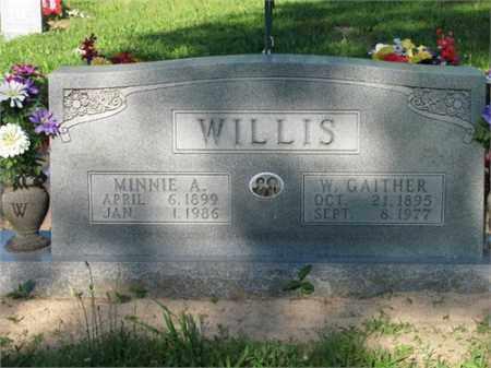 WILLIS, W. GAITHER - Newton County, Arkansas | W. GAITHER WILLIS - Arkansas Gravestone Photos