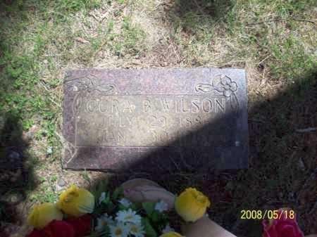 WILSON, CORA BELLE - Newton County, Arkansas | CORA BELLE WILSON - Arkansas Gravestone Photos
