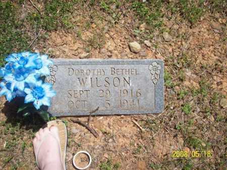CUNNINGHAM WILSON, DOROTHY BETHEL - Newton County, Arkansas | DOROTHY BETHEL CUNNINGHAM WILSON - Arkansas Gravestone Photos