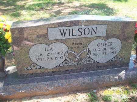 COX WILSON, ILA - Newton County, Arkansas   ILA COX WILSON - Arkansas Gravestone Photos