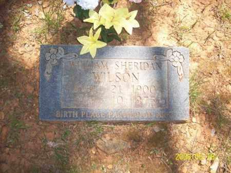 WILSON, WILLIAM SHERIDAN - Newton County, Arkansas | WILLIAM SHERIDAN WILSON - Arkansas Gravestone Photos