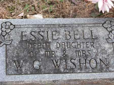 WISHON, ESSIE BELL - Newton County, Arkansas   ESSIE BELL WISHON - Arkansas Gravestone Photos