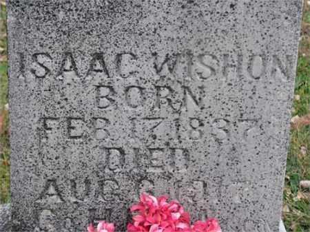 WISHON (VETERAN UNION), ISAAC COONROD - Newton County, Arkansas   ISAAC COONROD WISHON (VETERAN UNION) - Arkansas Gravestone Photos