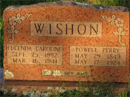 WISHON, POWELL PERRY - Newton County, Arkansas   POWELL PERRY WISHON - Arkansas Gravestone Photos