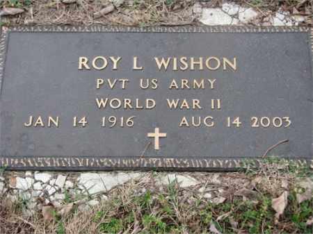WISHON (VETERAN WWII), ROY L - Newton County, Arkansas | ROY L WISHON (VETERAN WWII) - Arkansas Gravestone Photos