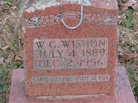 WISHON, WALTER - Newton County, Arkansas | WALTER WISHON - Arkansas Gravestone Photos