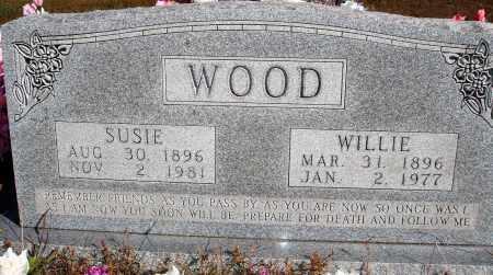 WOOD, SUSIE - Newton County, Arkansas | SUSIE WOOD - Arkansas Gravestone Photos
