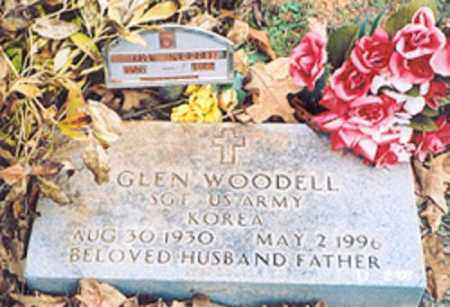 WOODELL  (VETERAN KOR), GLEN - Newton County, Arkansas | GLEN WOODELL  (VETERAN KOR) - Arkansas Gravestone Photos