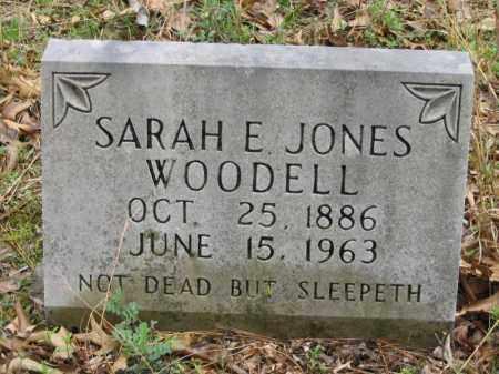 HARP WOODELL, SARAH E. JONES - Newton County, Arkansas | SARAH E. JONES HARP WOODELL - Arkansas Gravestone Photos