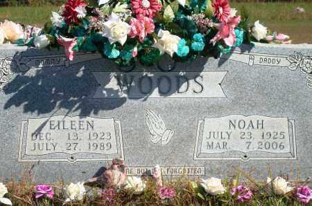 EDGMON WOODS, EILEEN - Newton County, Arkansas | EILEEN EDGMON WOODS - Arkansas Gravestone Photos